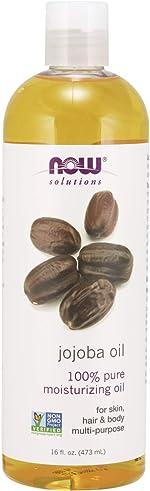 NOW Solutions, Jojoba Oil, 100% Pure Moisturizing, Multi-Purpose Oil for Face,
