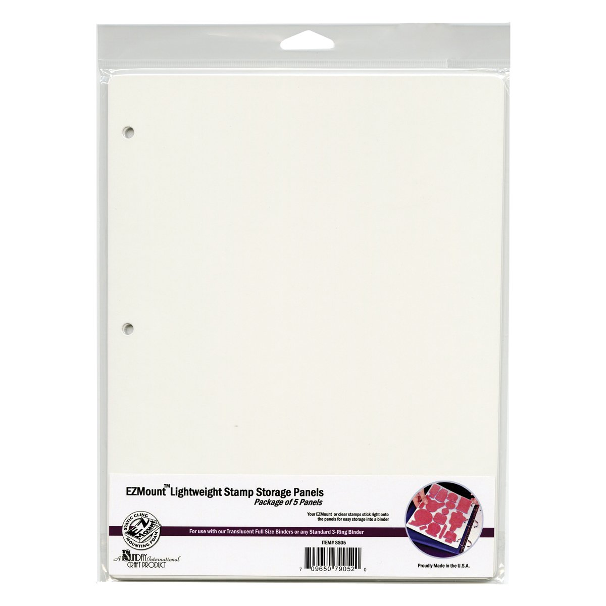 Crafter's Companion SS05 Sunday Int Stamp N' Stor Storage Panels 5/Pkg-8-1/2-Inch by 11-Inch Notions - In Network