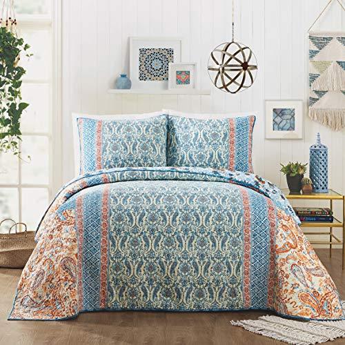 Jessica Simpson Salina Quilt, Full/Queen, - Queen Murano Bed