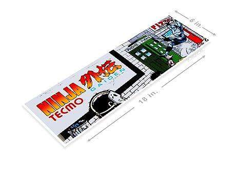 Amazon.com: PosterGlobe Poster B032 Ninja Gaiden Arcade Game ...