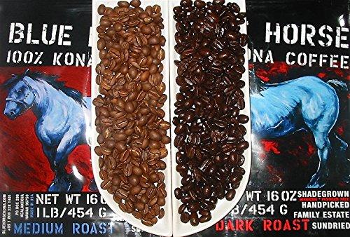 Buy blue horse kona coffee review