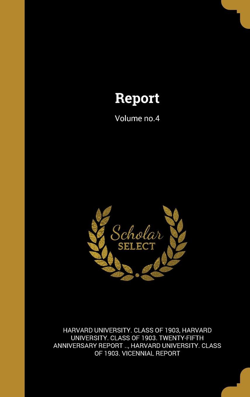 Download Report; Volume No.4 ebook