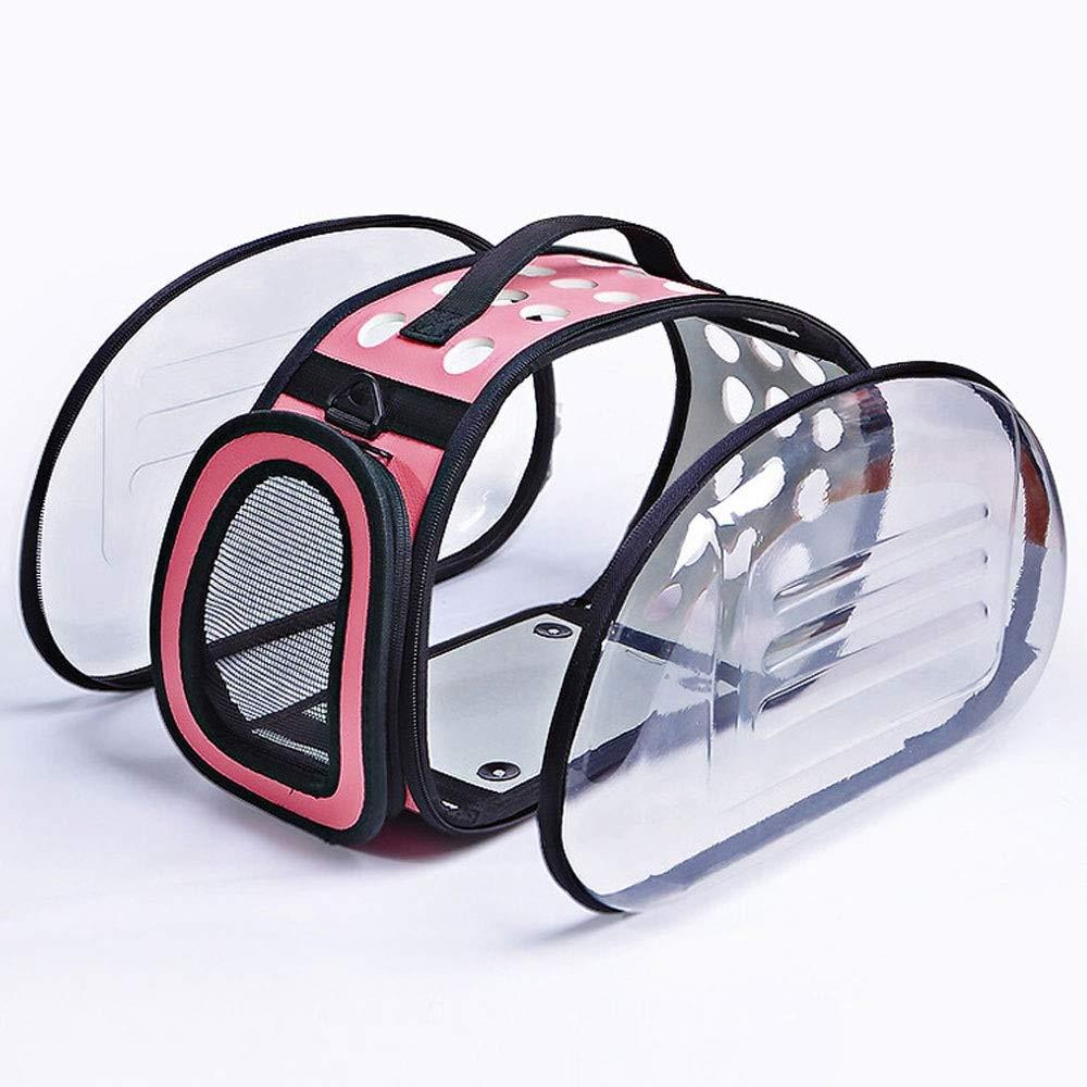 S Alapet EVA High Polymer Foam PU Material Transparent Pet Bag, Comfortable and Breathable Detachable Storage Convenient Bag, Shoulder Bag Diagonal Multi-Purpose Pet Travel Bag (Size   S)