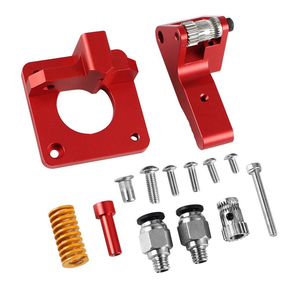 Kit de extrusor, aleación de aluminio, doble engranaje, a prueba ...