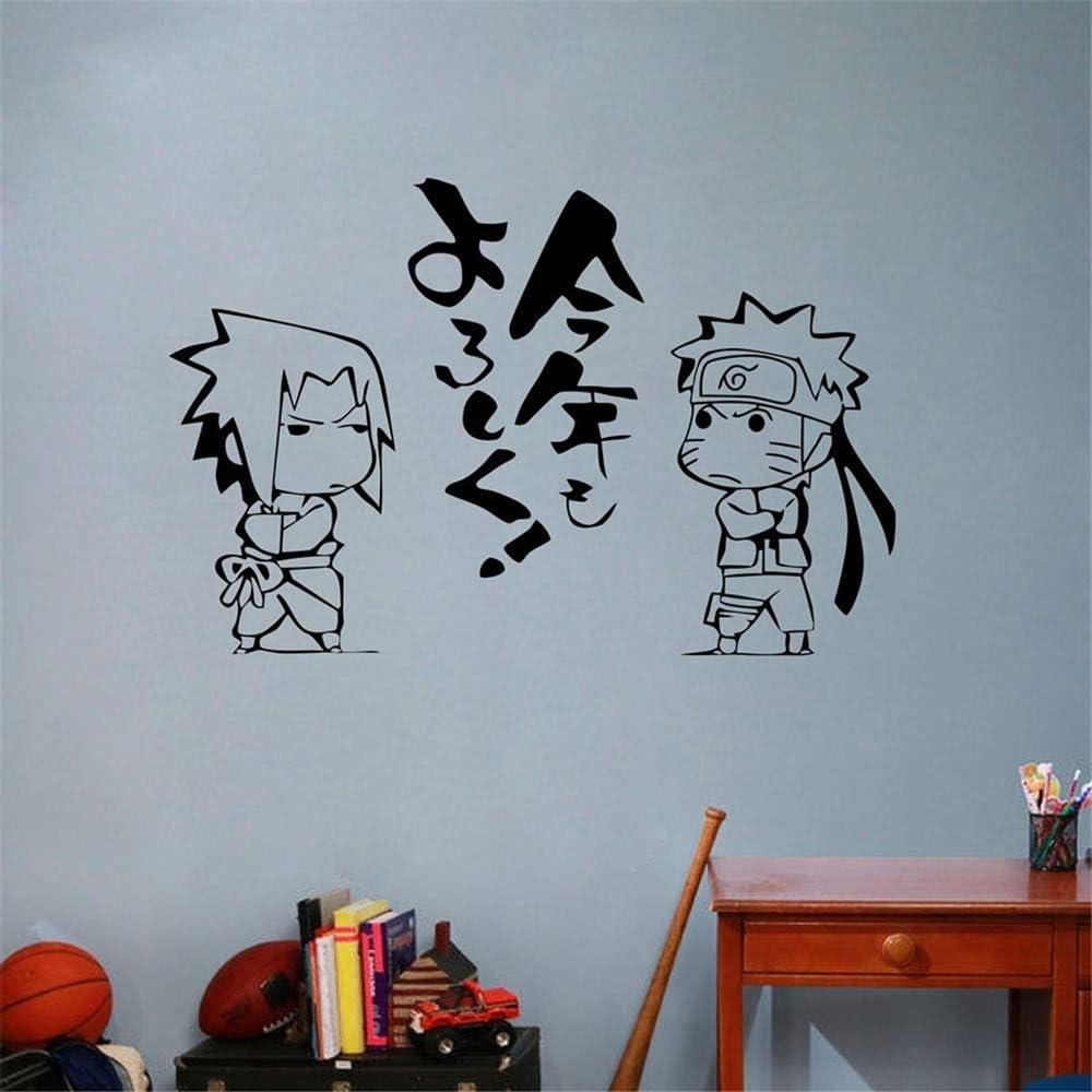 Japonés de Dibujos Animados Naruto Vinilo Etiqueta de La Pared ...
