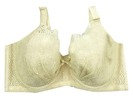 585b085912446 FLCH+YIGE Women Floral Lace Push-up Bra Plus Size Underwire Soft Cup  Everyday