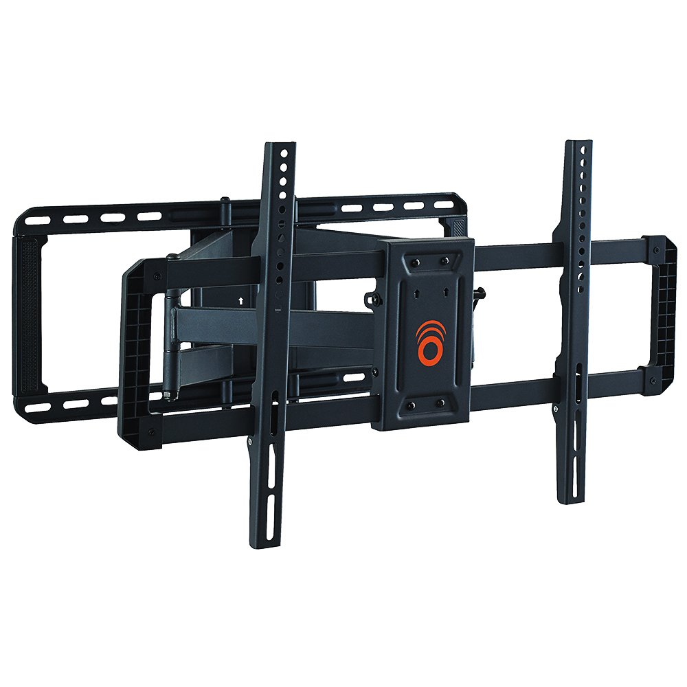 "ECHOGEAR Full Motion Articulating TV Wall Mount Bracket for 42""-85"" TVs - Easy To Install On 16"", 18"" or 24"" Studs and Features Smooth Articulation, Swivel, Tilt - EGLF2"