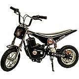 Burromax TT250 Electric Mini Bike 250 w Motocross Scooter, Black