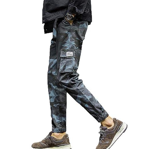 c661a149 LISTHA Camo Cargo Pants Mens Skinny Stretch Denim Trouser Freyed Slim Fit  Jeans