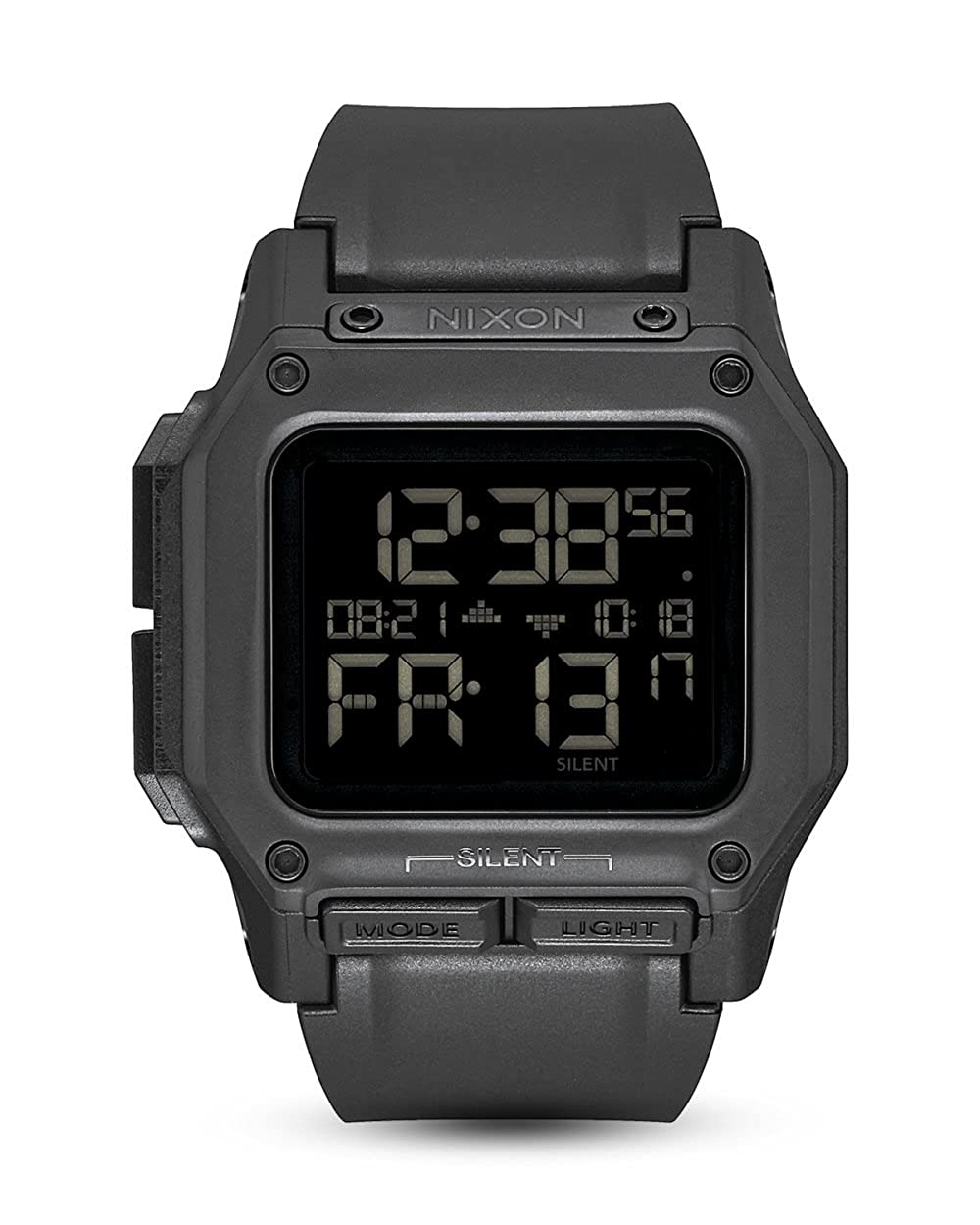 TALLA One Size. RELOJ NIXON REGULUS ALL NEGRO