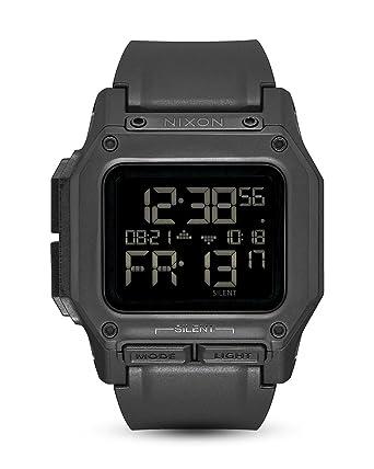 Nixon Reloj Unisex de Digital con Correa en Silicona A1180-001-00: Amazon.es: Relojes
