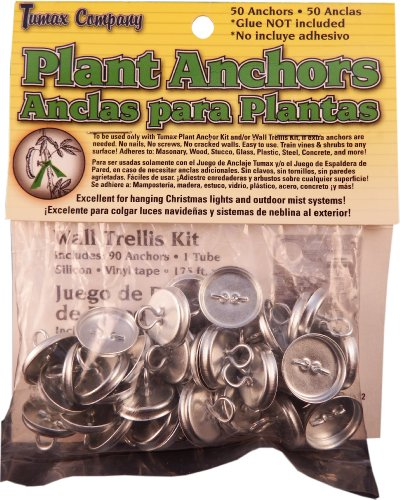 Tumax 50-Piece Plant Anchors For Trellis Design and Vine (Plant Anchors)