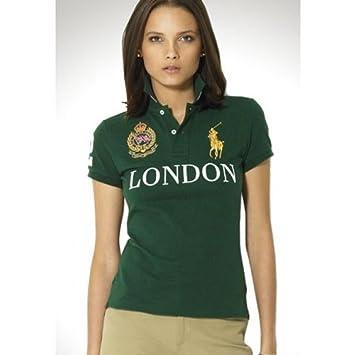 ee04886d5aad0 Ralph Lauren Pony London Green Short Sleeved Polo SIZE XL  Amazon.co.uk   Sports   Outdoors
