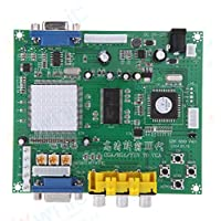WINTIT Arcade RGB CGA EGA YUV to VGA HD Video Converter Board for CRT LCD PDP Monitor