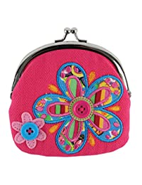 Stephen Joseph Signature Kiss Lock Purse, Flower BOBEBE Online Baby Store From New York to Miami and Los Angeles