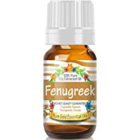 Pure Gold Fenugreek Essential Oil, 100% Natural & Undiluted, 10ml