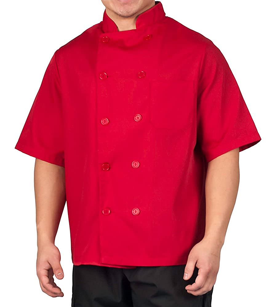 KNG Lightweight Short Sleeve Chef Coat 2578