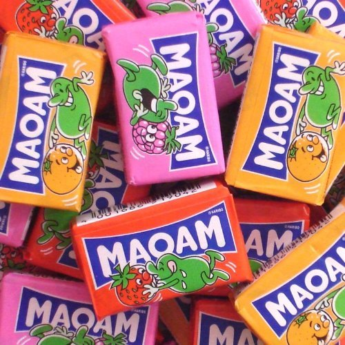 Chewing Candy (Haribo Maoam Assorted Chewing Candies (10x22g) 7.8oz)