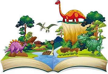 OFILA Dinosaur World - Fondo de Fotografía para Niños de 5 ...