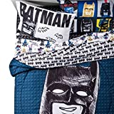 The LEGO Batman Movie Sketchy Twin Comforter and Sheet Set