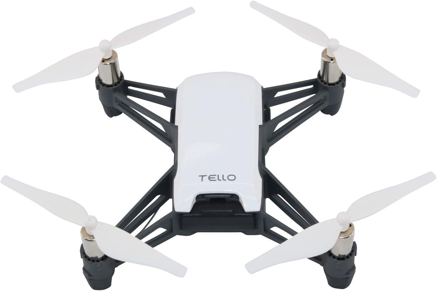 Kismaple Tello RC Quadcopter Hélices à démontage rapide pour DJI Tello (Blanc + Noir + Bleu + Rouge + Jaune) Blanc + Noir + Bleu + Rouge + Jaune