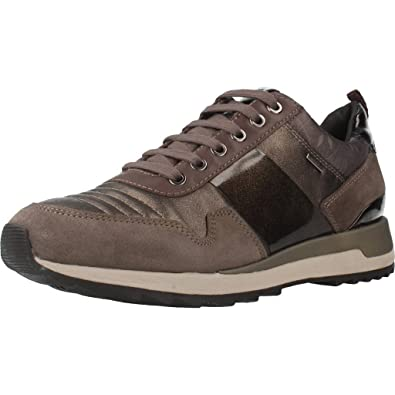 Geox Women's D Aneko B ABX a Low-Top Sneakers  Amazon.co.uk  Shoes   Bags d5bc78bf8cb3