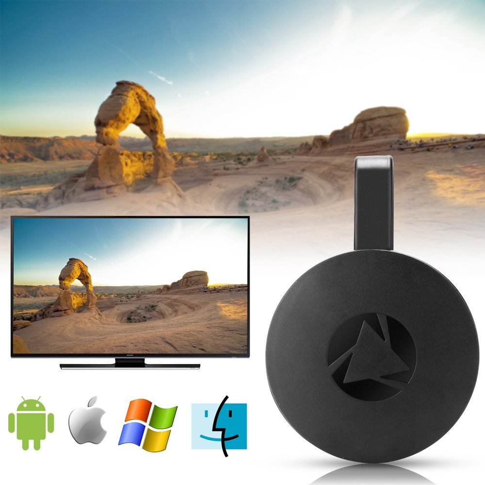 WiFi Display Dongle Wireless Mini Display Receiver Mirror Dongle HDMI Adapter TV Miracast DLNA Airplay for iOS iPhone iPad Android Device Smartphone Macbook by XMBest (Image #6)