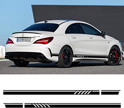 Edition1 Style Side Stripes Sticker for Mercedes Benz W117 C117 X117 CLA AMG