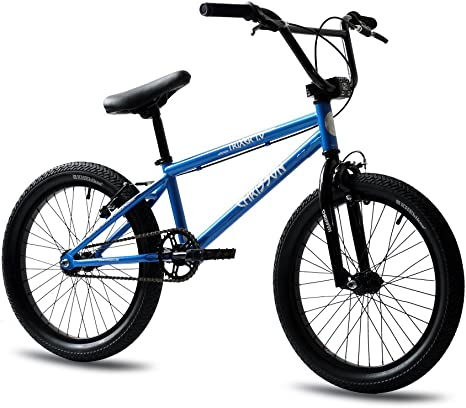 20 pulgadas BMX Bicicleta Rueda CHRISSON trixer 1.0 Rotor Blue ...