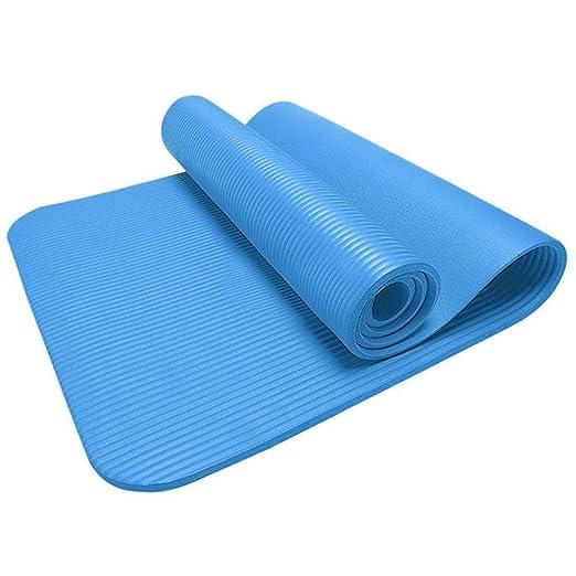 misiliu 10 mm antideslizante - alfombrilla para yoga de ...