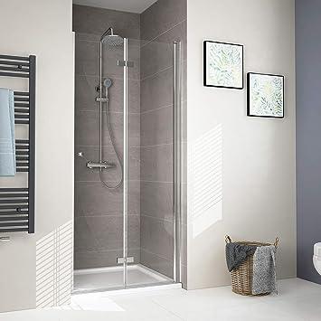 Nischentür Pendeltür Duschtür Schwenktür Duschabtrennung Dusche Duschkabine 6mm