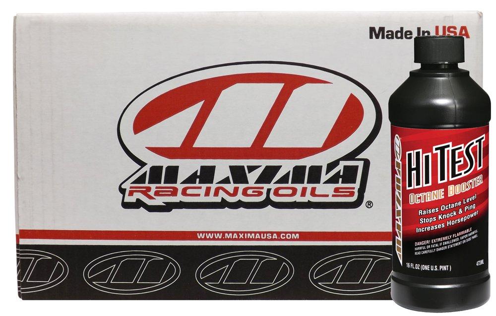 Maxima Racing Oils CS83916-12PK-12PK Hi-Test Octane Boost - 192 oz., (Pack of 12) by Maxima