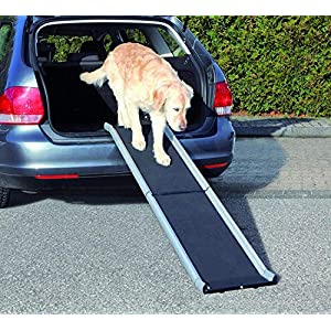 Trixie Aluminium Petwalk Folding Ramp for Dog, 155 x 38 cm, Black Click on image for further info.