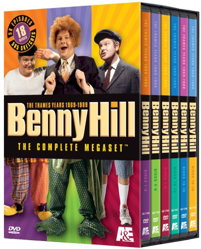 Benny Hill: The Complete & Unadulterated Megaset 1969-1989 by A&E