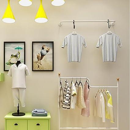 c4108c338d48 Rastrelliere per abbigliamento in ferro   scaffali per negozi di  abbigliamento   espositori   scaffali a