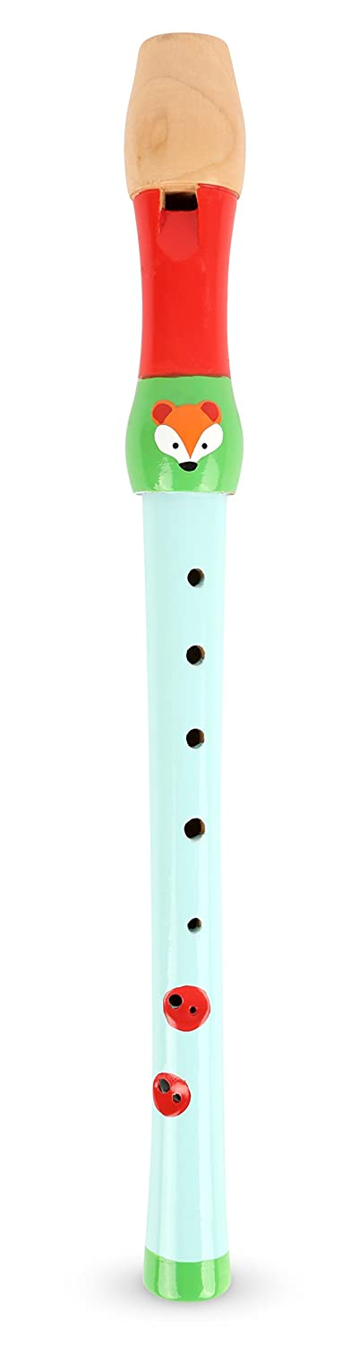 Small Foot 10722 Children's Flute, Child-Friendly Design, Made of Sturdy Wood and Suitable for Playing, Encourages The Creativity Small Foot by Legler
