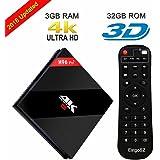 EstgoSZ H96 Pro Plus 3GB RAM 32GB ROM TV Box Amlogic S912 Octa-core CPU Android 7.1 Dual-band WIFI 2.4GHz/5.0GHz Bluetooth 4.1 1000M LAN 4K 2K Set Top Box 2018 Model