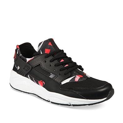 FREECODER SPORT Chaussures de Sport Noir Homme Chaussea