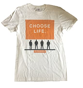 8f1bb6828046 Trainspotting - T2 Choose Life - Official Mens T Shirt: Amazon.co.uk:  Clothing