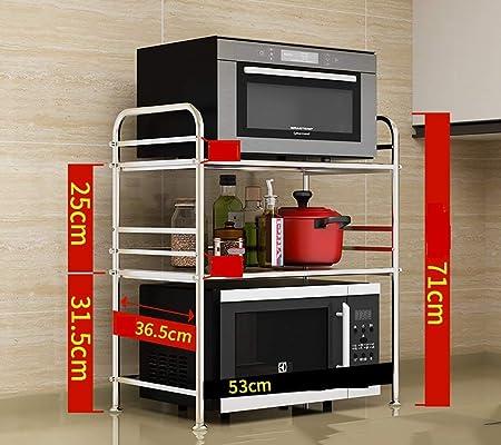 GWFVA Estante de Cocina Estante de Horno de microondas de ...