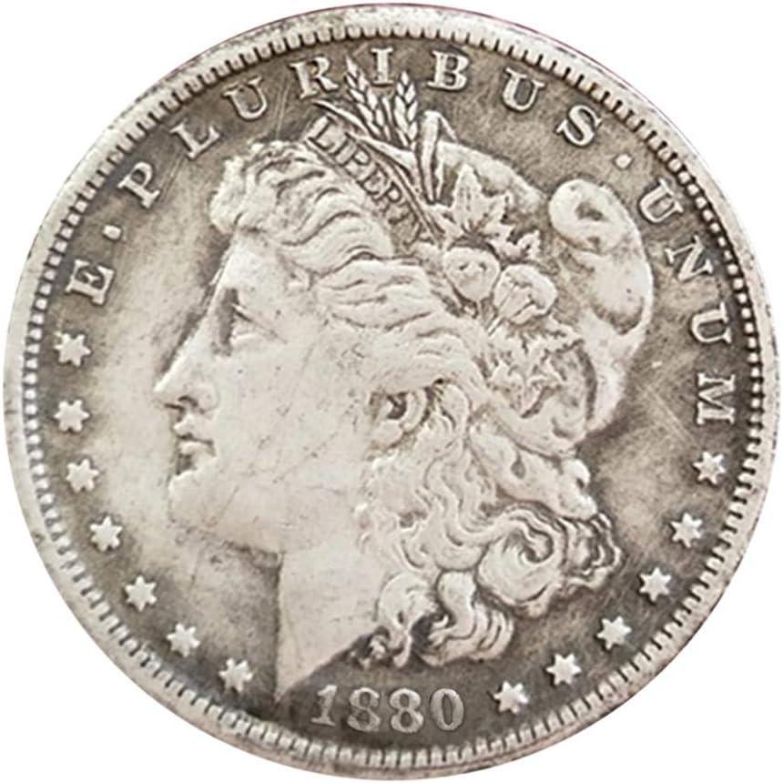 DonLucancy 1878-1921 Imitación Moneda Antigua Estadounidense Morgan, dólar de Plata, Copia Conmemorativa de 1 dólar.: Amazon.es: Hogar