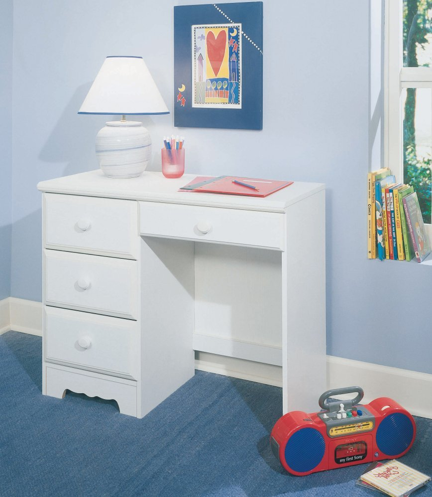 New Visions by Lane 924-665 Student Desk, White