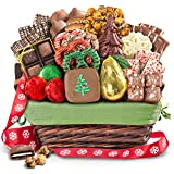 Golden State Fruit Holiday Handmade Chocolate Bliss Assortment Gift Basket