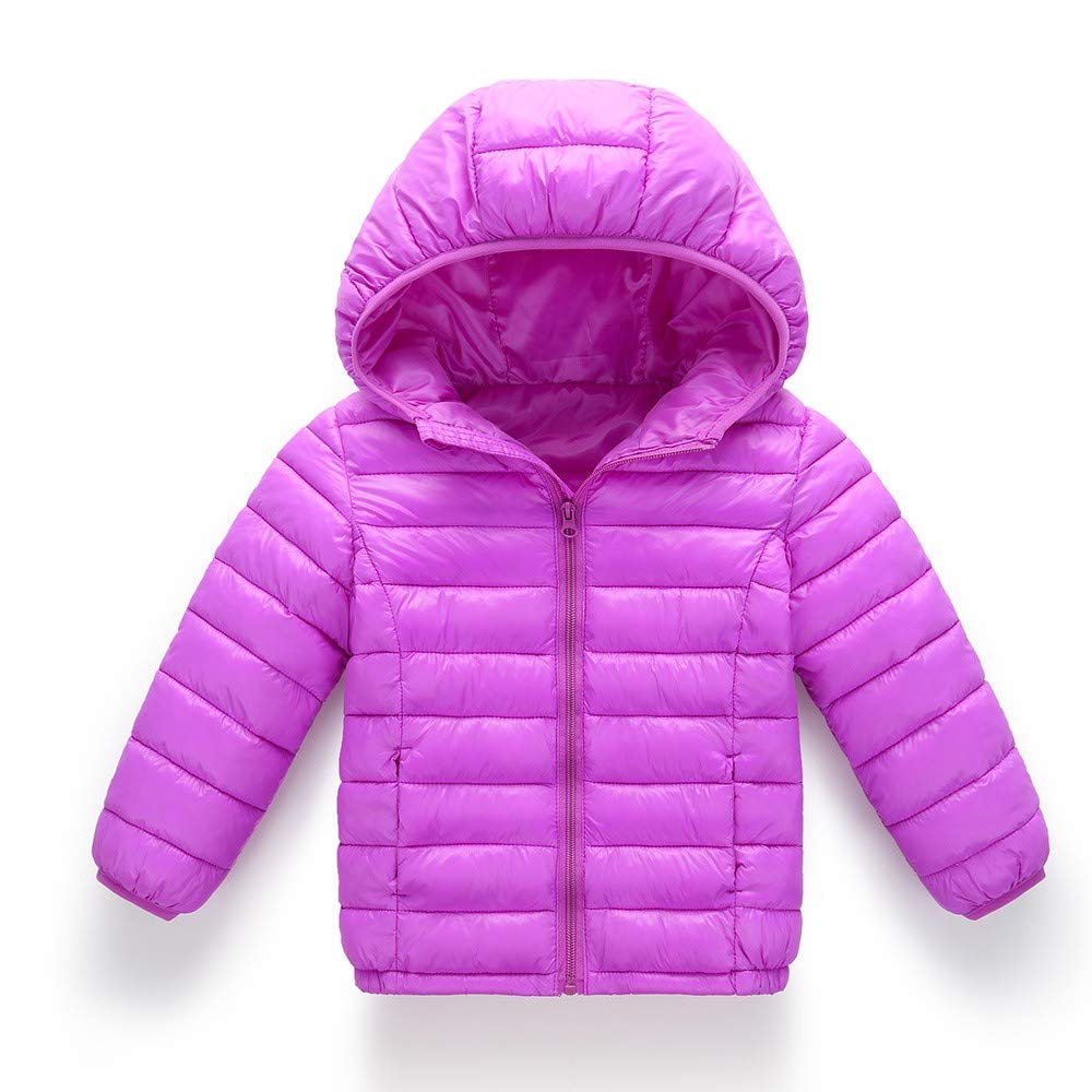 Geetobby Boys & Girls Hooded Coat Sport Fashion Winter Warm Cotton-Padded Jacket Grace Toby