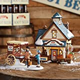 Department 56 New England Village Spirit of 76 Root Beer Lit House, 6.5-Inch