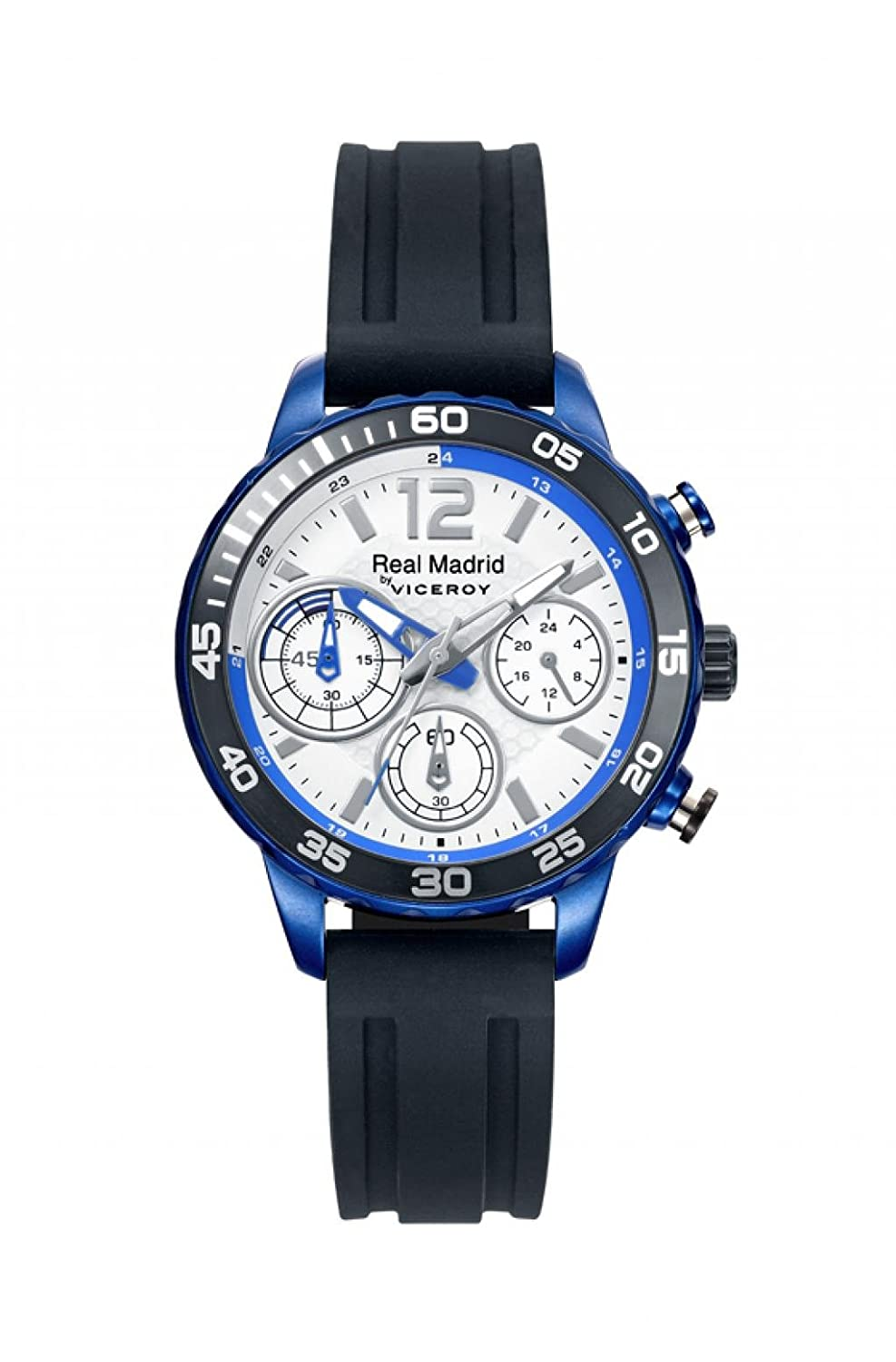 Sehen Viceroy Real Madrid Chronograph Weiß Rubber 40962-05 Kinder