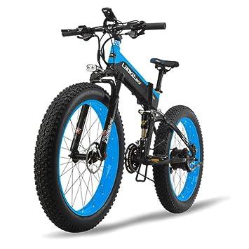 MERRYHE 26 * 4.0 Fat Tire Road Bicicleta Plegable 48V 500W ...