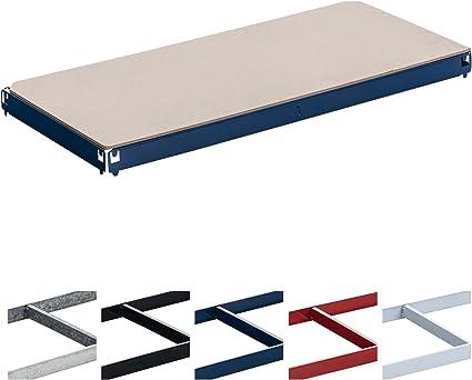CLP Balda de Repuesto para Estanteria Metálica I Estante de Repuesto para Estanterías I Estante Individual I Color: Azul