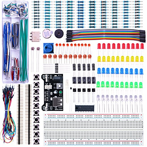 Picture of an Elegoo Upgraded Electronics Fun Kit 746591610753