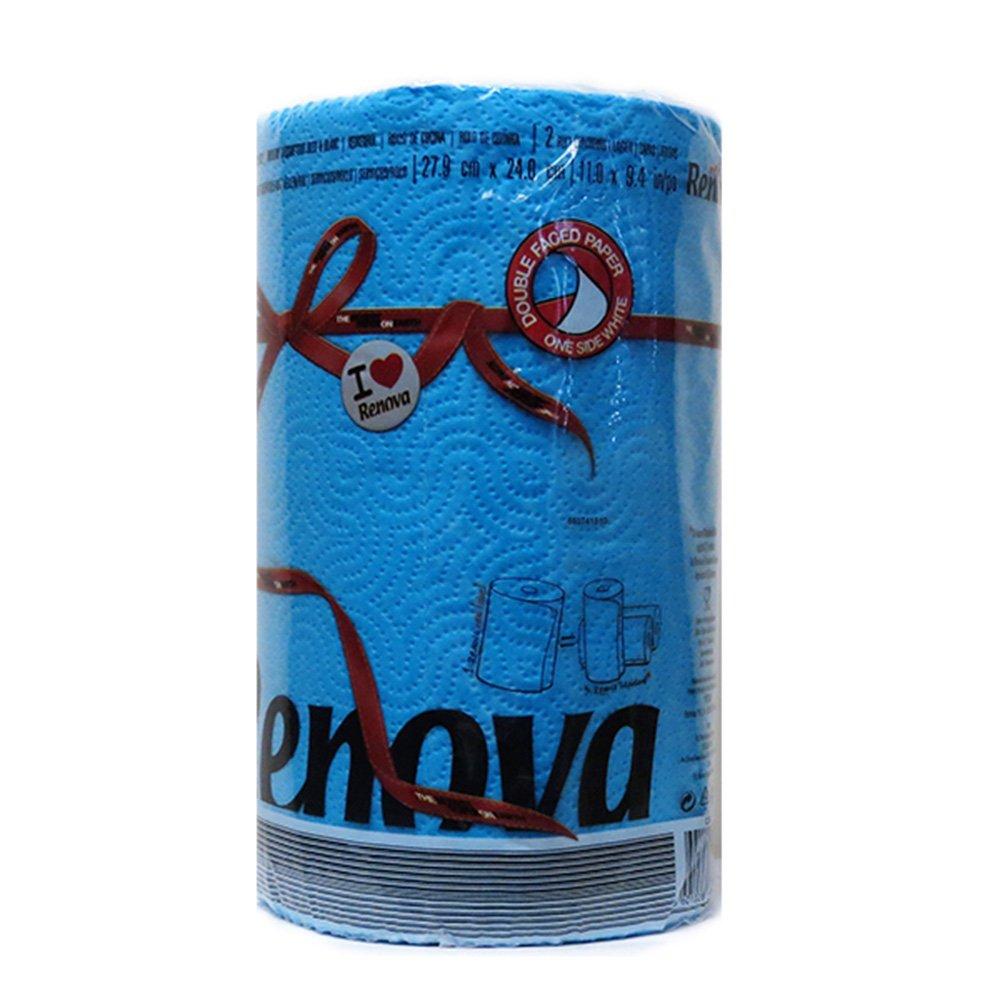 Renova Red Label Paper Towel- Blue (120 Sheets) 8020862